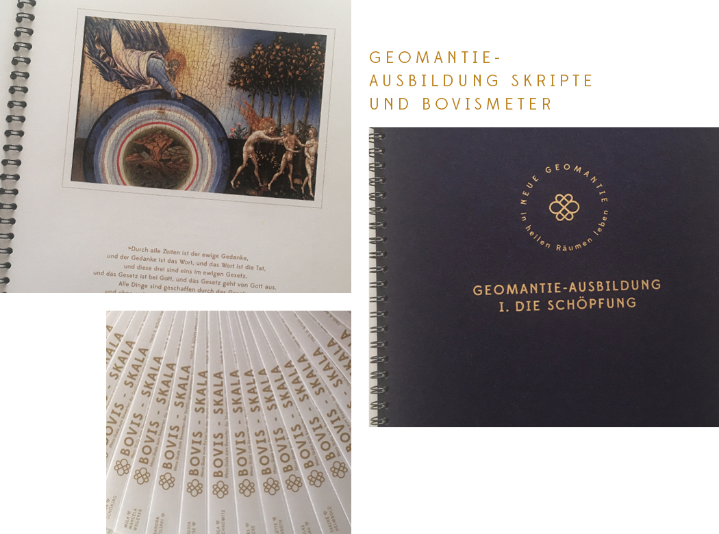 Neue Geomantie - Geomantieausbildung Ausbildungsmaterial