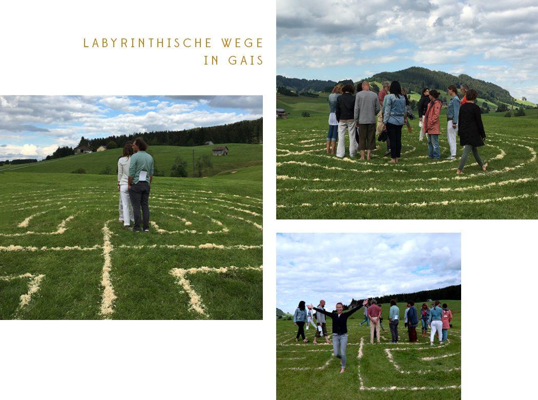 Neue Geomantie - Labyrinthische Wege