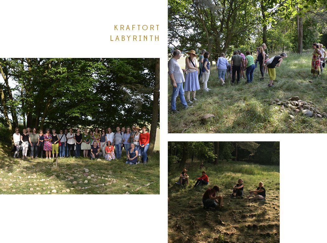 Neue Geomantie - Geomantieausbildung Kraftort Labyrinth